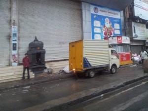 Shops are Shuttered