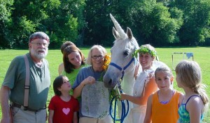 Visible Unicorn at Camp Quest