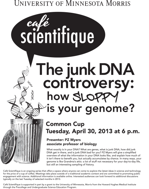 JunkDNACafeScientifique