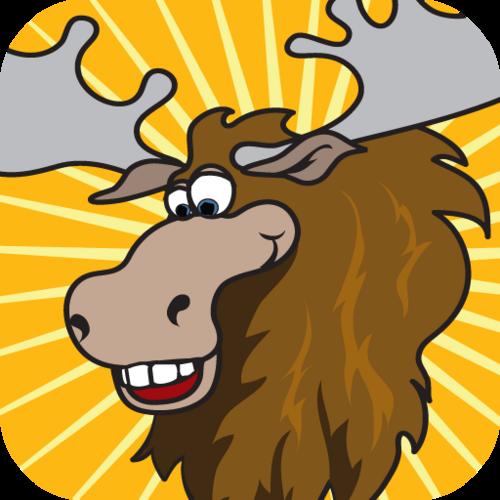 Moose face cartoon - photo#25