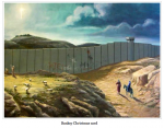Banksy Christmas Card
