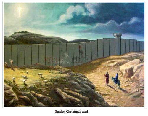 Banksy Christmas Card