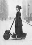 Suffragette on a Scooter
