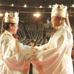 Sun Myung Moon and his wife
