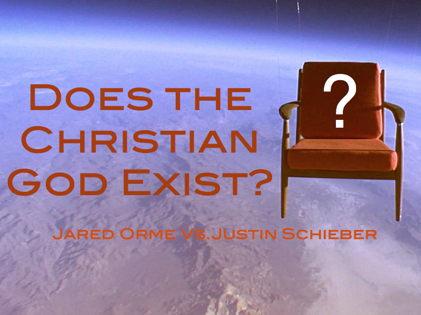 a discussion of the christian gods existence Note: these all deal with the judeo-christian god religious topics abound on listverse and they are frequently the most commented upon it has been some time since the last one so it seems like the time is ripe for another - and this one is a great one for discussion.