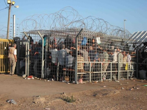 palestinian checkpoint
