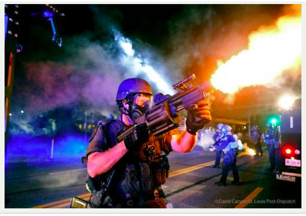 ferguson riot police