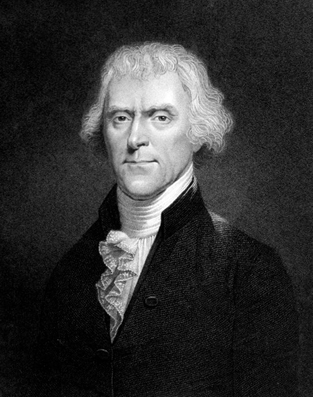 Thomas Jefferson, gadabout dirtbag
