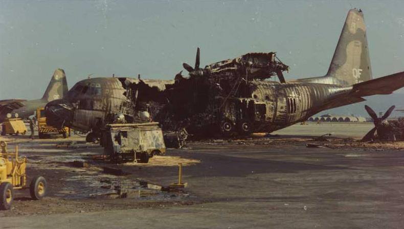 Destroyed logistics, Da Nang, 197? Your strength is my target