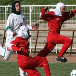 Iranian women's national football team plays in hijab, but the youth Olympic team is not allowed