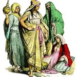 Pre Islam Arab Women 4 to 6 century AD