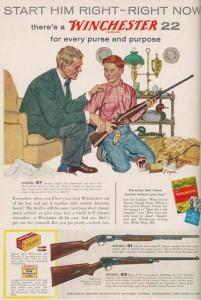 gun ad purse
