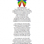 poem butterfly rainbow