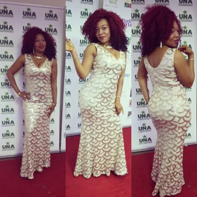 Flaunting my curves on the red carpet cos if life gives you curves, flaunt them.