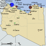 The vast majority of Libyans live on or near the coast