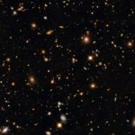The Hubble Deep Field View courtesy of NASA/JPL