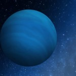 Arist's conception of a large, Neptune mass planet kicked out to the distant edge of the solar system. Image courtesy Southwest Research Institute, Boulder, CO>