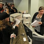 Via Think Progress, activist delivering recall petitions, image submitted by Ed Schultz