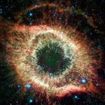 The Helix nebula as seen by NASA's Spitzer Infrared Telescope. Click image for top ten Spitzer images at Nat'l Geo