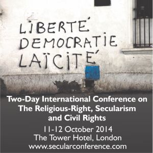 London secular conference