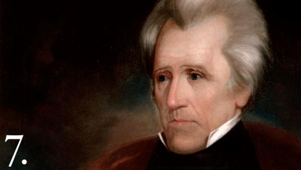"""Courtesy Whitehouse.gov Andrew Jackson took office in 1829 with one goal set firmly in his mind: Indians must be moved """"beyond the great river Mississippi."""""""