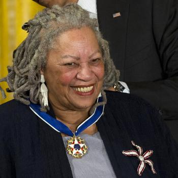 """In this 2012 file photo, author Toni Morrison received a Medal of Freedom award. Her books """"Beloved"""" and """"The Bluest Eye"""" could be banned in Virginia schools. (Carolyn Kaster 
