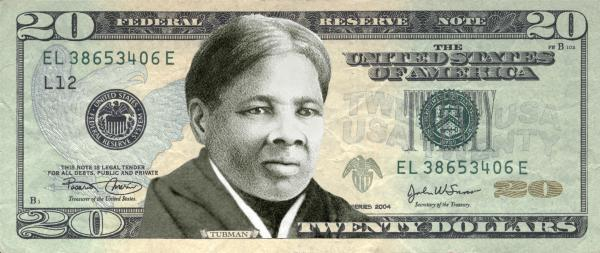Women on 20s Treasury Secretary Jack Lew announced on April 20 that Andrew Jackson will be replaced by Harriet Tubman on the $20 Federal Reserve Note.