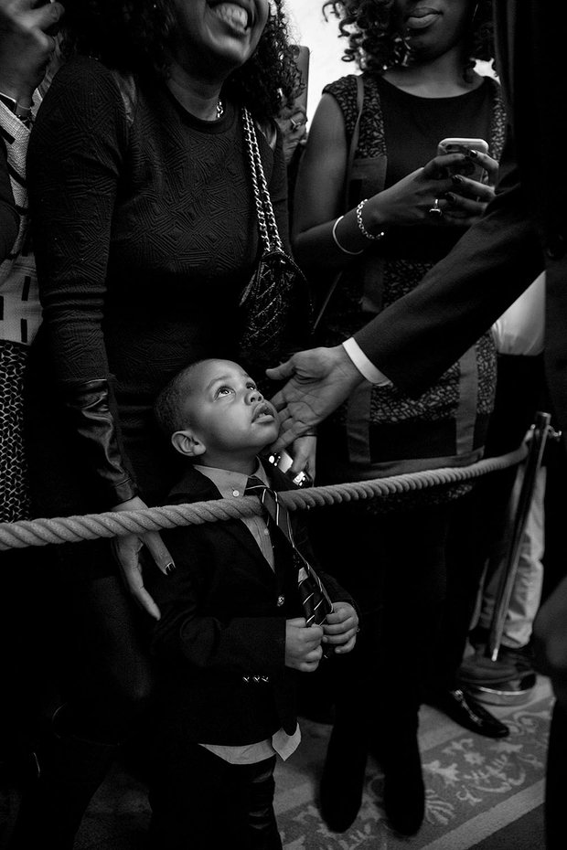 Feb 2016 – Obama touches the face of three-year-old Clark Reynolds, in one of Souza's most moving photographs.