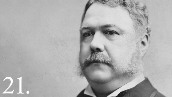 Chester A. Arthur, 20th president of the United States, viewed cultural diversity as a threat to the country.