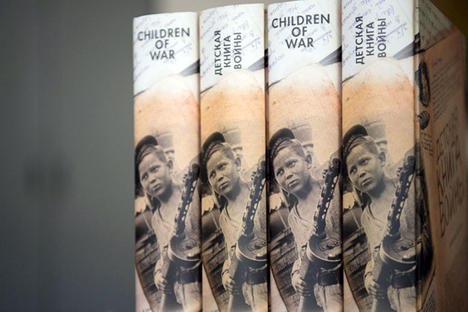 'Children of war' book was presented in London on May 9 by the Gift of Life charity foundation. Source: Maxim Blinov / RIA Novosti