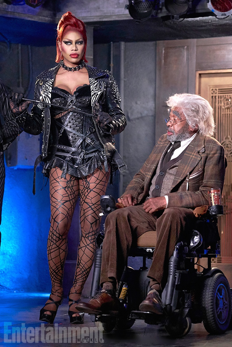 THE ROCKY HORROR PICTURE SHOW: L-R: Laverne Cox and Ben Vereen.