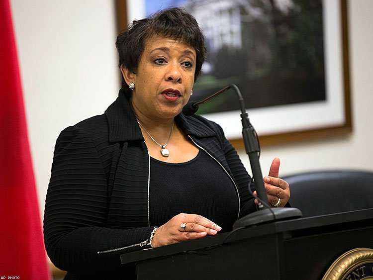 U.S. Attorney General Loretta Lynch.