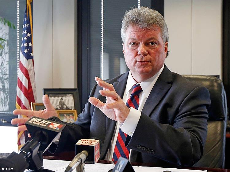 Attorney General Jim Hood. AP Photo.