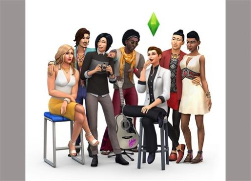 """This image released by Electronic Arts shows the new diverse characters that will be available on """"The Sims 4"""" the latest edition of """"The Sims"""" video game. (Electronic Arts via AP)"""