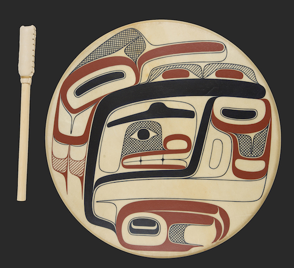 Txaamsem, Best of Show, by David R. Boxley (Photo: Brian Wallace, Courtesy of Sealaska Heritage Institute)
