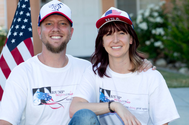 David and Tonya Goss Photo: Rupert Thorpe