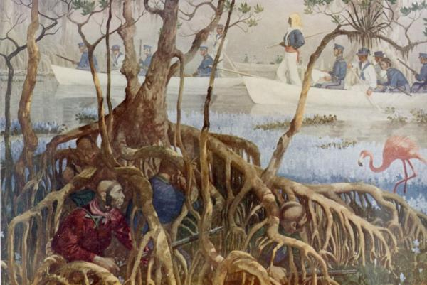 seminole-war-in-everglades