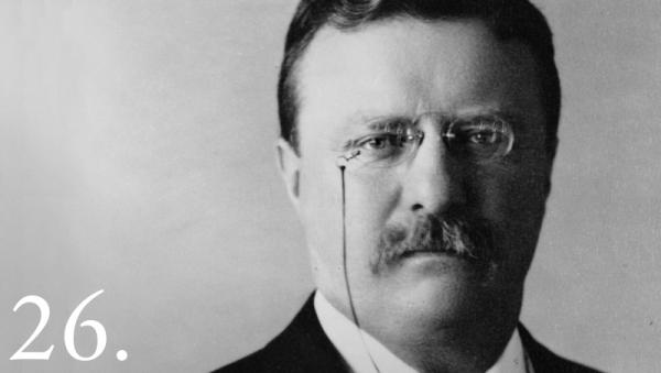 Theodore Roosevelt. Whitehouse.gov.