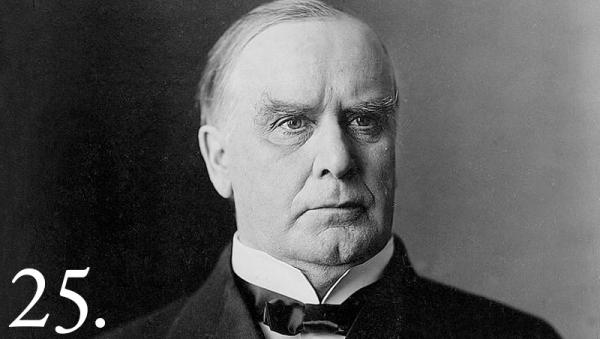 William McKinley took office as the Dawes Commission, headed by Henry Dawes, was dismantling the Five Civilized Tribes. Established in 1893, the commission was charged with convincing the Choctaw, Creek, Chickasaw, Seminole and Cherokee to accept individual land allotments and register with the federal Dawes Rolls.