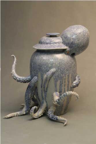 Octopus Vase.