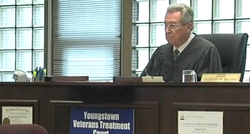 Youngstown Municipal Court Judge Robert Milich (Photo: Screen capture from WKBN)