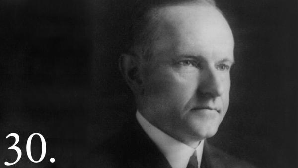John Calvin Coolidge granted automatic citizenship to all Native Americans born in the United States in June 1924, but he also began desecration of Mount Rushmore in August 1927.