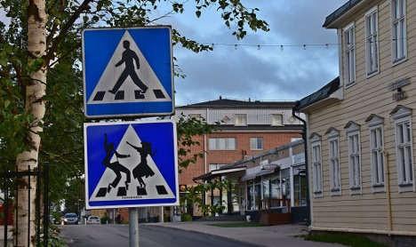 Want to dance across the street in Haparanda? Photo: Stefan Haapaniemi.