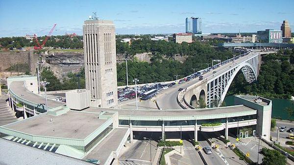 Rainbow Bridge Border Crossing.
