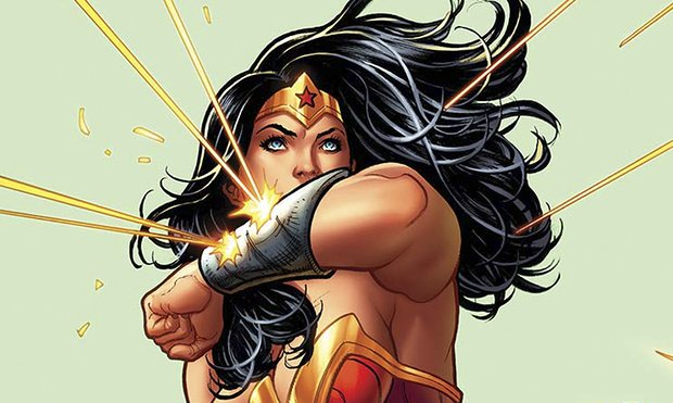 Greg Rucka said Wonder Woman's queer identity was important to the narrative. Photograph: Frank Cho/DC Comics.