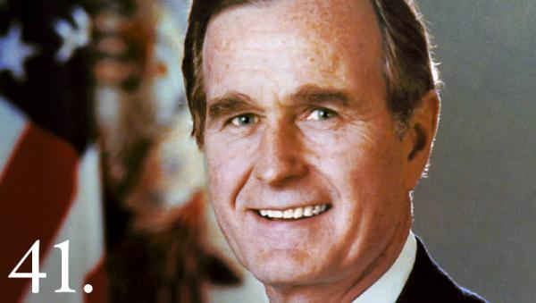 George Herbert Walker Bush. Whitehouse.gov