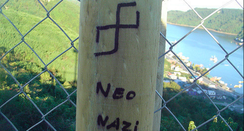 An incorrectly drawn Nazi swastika (Flickr Creative Commons).