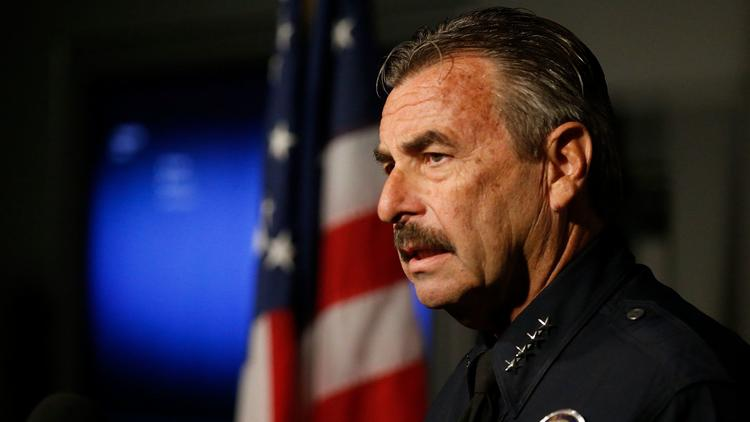 Los Angeles Police Chief Charlie Beck. (Mark Boster / Los Angeles Times).