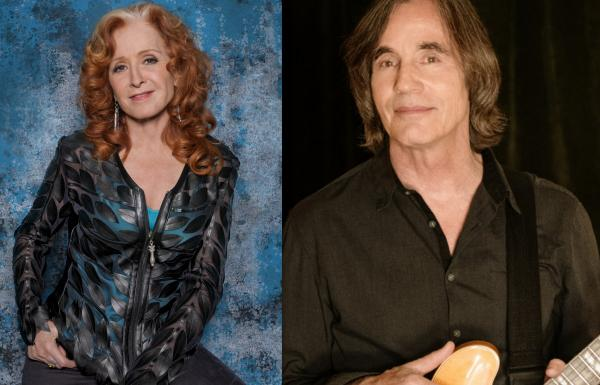 Iconic musicians Jackson Browne and Bonnie Raitt,will perform a benefit concert along with Native performers on November 27 for the Water Protectors on the front line at Standing Rock. Courtesy Photos Jackson Browne / Bonnie Raitt.