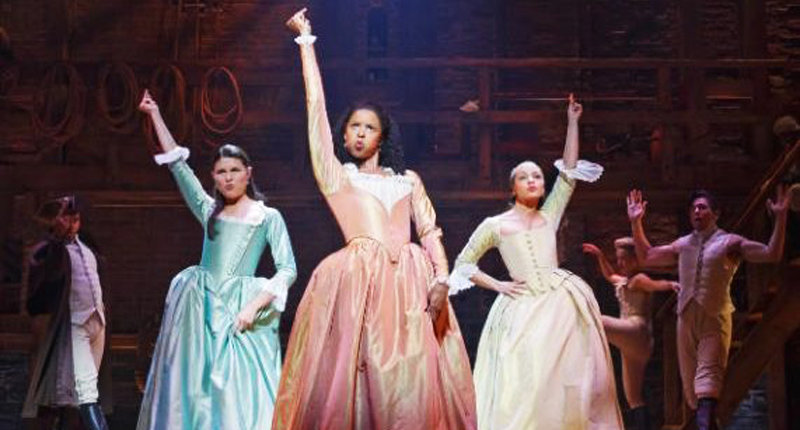 Schuyler Sisters -- via Hamilton website.